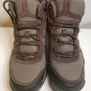 Columbia mens hicking shoes boots 9W